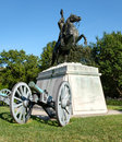 The Andrew Jackson statue at Lafayette Park in Washington D.C. Royalty Free Stock Photo