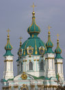 Andrew's Church, Kiev, Ukraine Royalty Free Stock Photos