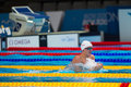 Andrew willis gbr barcelona – august in action during barcelona fina world swimming championships on august in barcelona spain Stock Photo