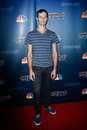 Andrey moraru new york jul hand balancer attends the america s got talent post show red carpet at radio city music hall on july in Royalty Free Stock Image