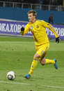 Andriy Yarmolenko of Ukraine Royalty Free Stock Images