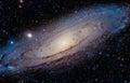 The Andromeda Galaxy Royalty Free Stock Photo