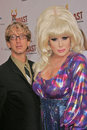Andy dick lady bunny and at the comedy central roast of pamela anderson sony studios culver city ca Stock Photo