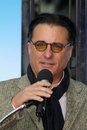 Andy garcia at robert duvall s hand and footprint ceremony to celebrate his years of excellence in film chinese theater hollywood Royalty Free Stock Photography