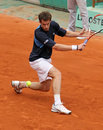 Andy Murray at Roland Garros 2009 Stock Photography