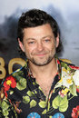 Andy serkis at the cowboys aliens world premiere san diego civic theatre san diego ca Stock Photography