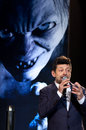 Andy serkis december st tokyo japan appears at the japan premiere for the hobbit an unexpected journey by peter jackson in the Royalty Free Stock Image