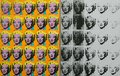 An artwork by Andy Warhol in the famous Tate Modern in London