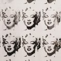 Andy Warhol, Marilyn Monroe in black and white, Moderna Museet Royalty Free Stock Photo