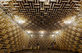 Anechoic chamber Royalty Free Stock Photo