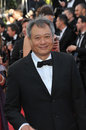 Ang lee cannes france may at the gala premiere of the past le pass� in competition at the th festival de cannes Royalty Free Stock Photography