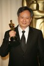 Ang lee in the press room at the th annual academy awards kodak theatre hollywood ca Stock Image