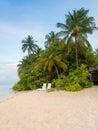 Angaga, Maldives Royalty Free Stock Photo