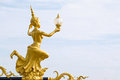 Angel is the animal in thai street light in important Royalty Free Stock Image