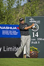 Angel Cabrera - 14th Tee - NGC2009 Royalty Free Stock Photography