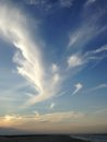 Angel clouds. Royalty Free Stock Photo