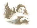 Angel 3d CG