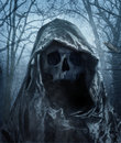 The angel of death demon of darkness photomanipulation Royalty Free Stock Photos