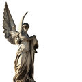Angel of death lychakivs cemeteries lviv ukraine as a symbol the end life Stock Photo