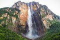 Angel Falls, Canaima national park, gran sabana, venezuela Royalty Free Stock Photo