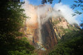 Angel falls venezuela the highest waterfall in the world Royalty Free Stock Photography