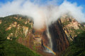 Angel falls venezuela the highest waterfall in the world Stock Images
