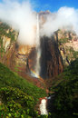 Angel falls venezuela the highest waterfall in the world Stock Photo