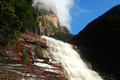 Angel falls venezuela lower end of the Royalty Free Stock Photos