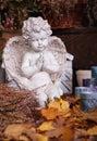 Angel figurine Stock Photo