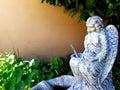 Angel Garden Statue Royalty Free Stock Photo