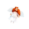 Angel girl doll Fotos de Stock Royalty Free