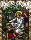 Angel guardian Royalty Free Stock Photo