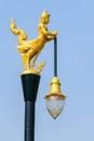 Angel lamp tailandês Foto de Stock Royalty Free