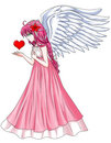 Angel With Love Royalty Free Stock Photo