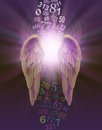 Angel Numbers Royalty Free Stock Photo