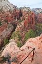 Angel's Landing Trail Royalty Free Stock Photo