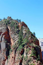 Angel`s Landing, Zion National Park Royalty Free Stock Photo
