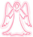 Angel Sketch Royalty Free Stock Photos