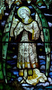 Angel in stained glass Royalty Free Stock Photo