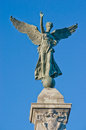 Angel Statue in Montreal Stock Images