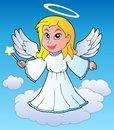 Angel theme image 1 Royalty Free Stock Images
