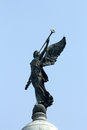 Angel of victory atop the dome of Victoria Memorial, Kolkata
