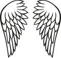 Angel wings freedom