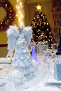 Angelic table setting Image stock