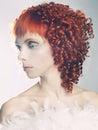Angelic woman Royalty Free Stock Photo
