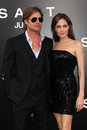Angelina Jolie,Brad Pitt Royalty Free Stock Images