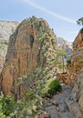 Angels Landing Summit Stock Photography
