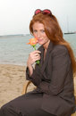 Angie everhart may actress at the cannes film festival to promote her new movie gunblast vodka paul smith featureflash Stock Photo