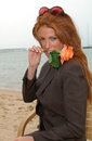 Angie everhart may actress at the cannes film festival to promote her new movie gunblast vodka paul smith featureflash Stock Photography