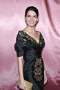 Angie Harmon, Fashion Show Royalty Free Stock Photos